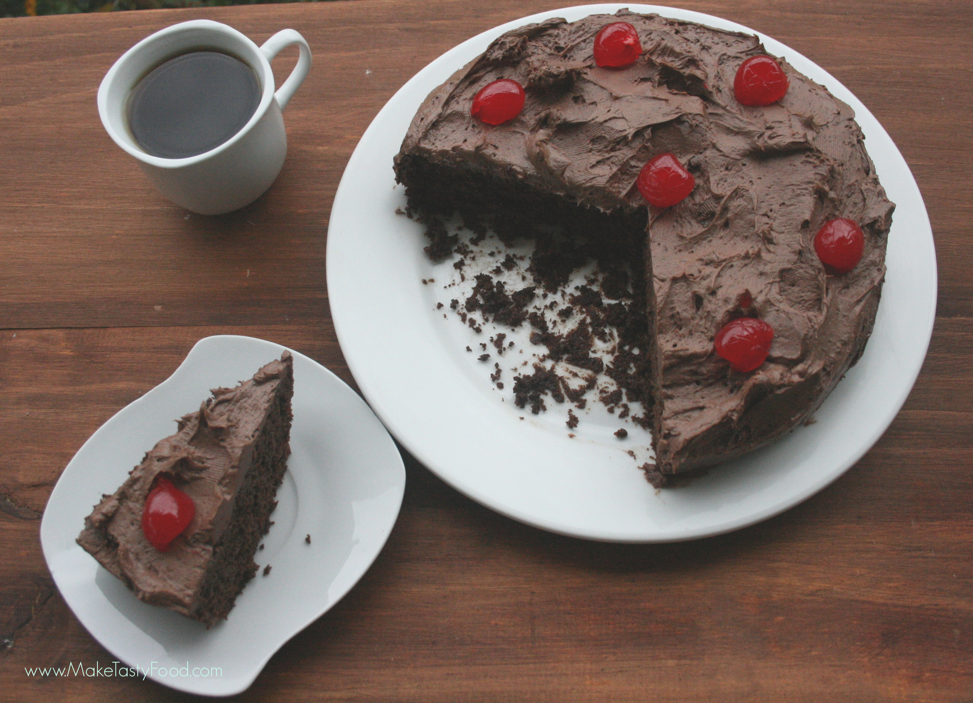 chocolate 7 minute cake oven bake and microwave bake