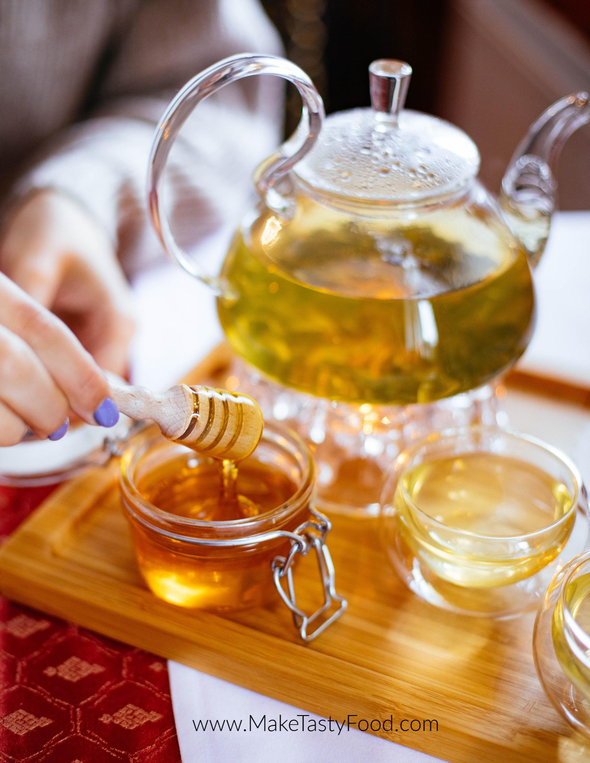 pure organic honey. use it instead of sugar