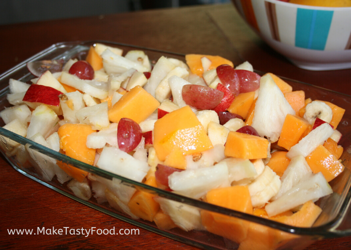 Easy Fresh Fruit Salad