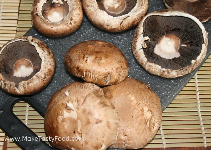 mushrooms for a braai