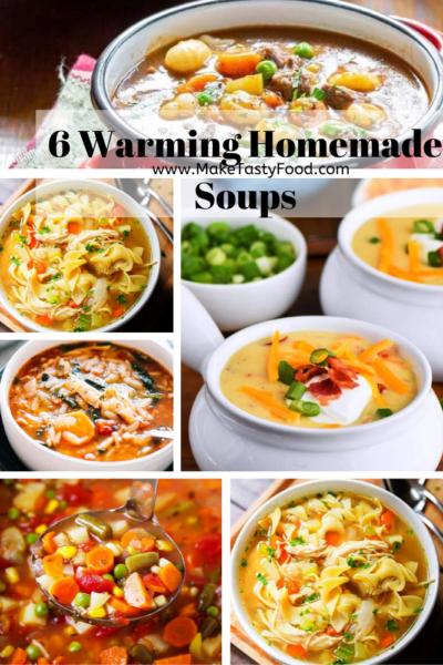 6 Warming Homemade Soups