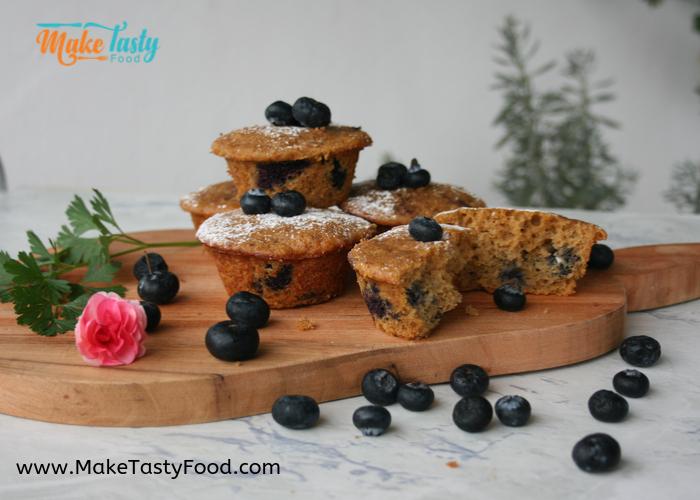 tasty blueberry muffins