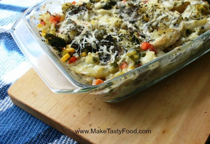 tasty all in one vegetable dish