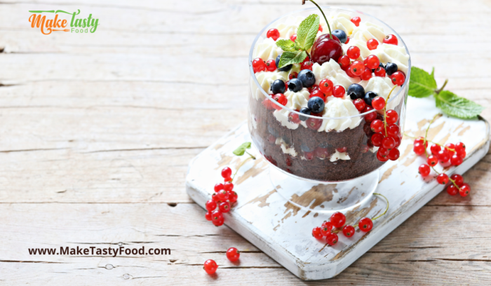 trifle dessert