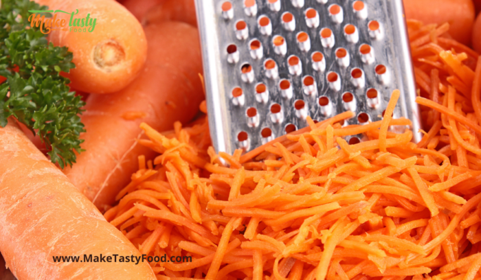 grated carrots for coleslaw