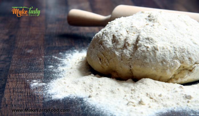 floured dough for dinner rolls