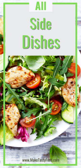 all side dishes for meals