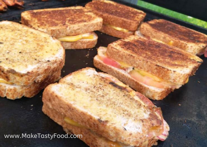 toasted braai grilled sandwiches
