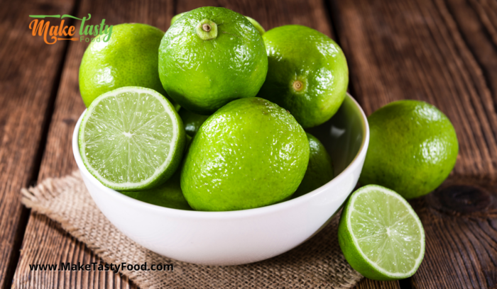 collecting limes for homemade juice