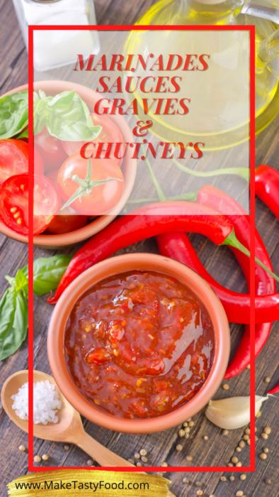 marinades sauces grabbes and chutneys