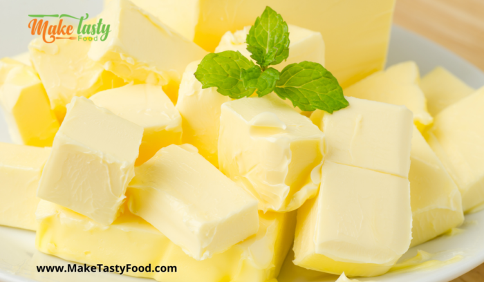 cubed unsalted butter