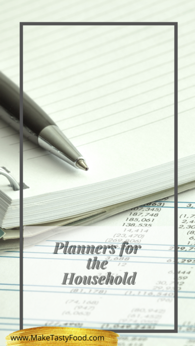 planners for shopping of groceries and planning meals for monthly or weekly. including holiday meal planning. not forgetting the budget help